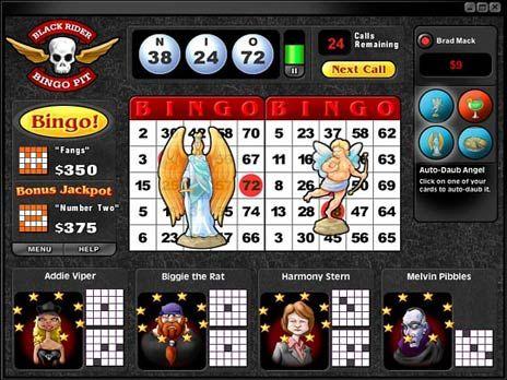 saint sinner bingo