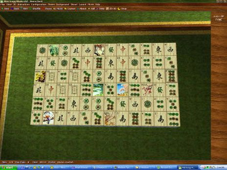Mahjongg master 5 [windows] [gameplay] youtube.