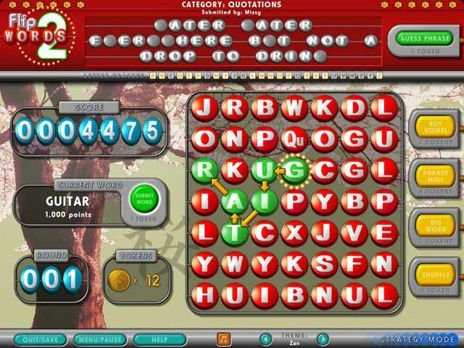 Click letters to make words and solve thousands of familiar phrases in this  exciting sequel to Flip Words - one of most addictive words games around!