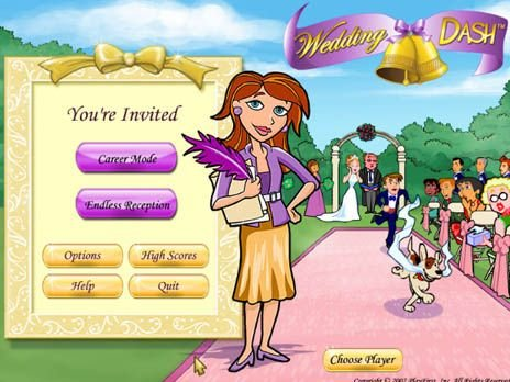 download wedding dash for free at freeride games