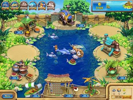 Download Farm Frenzy: Gone Fishing! for free at FreeRide Games!