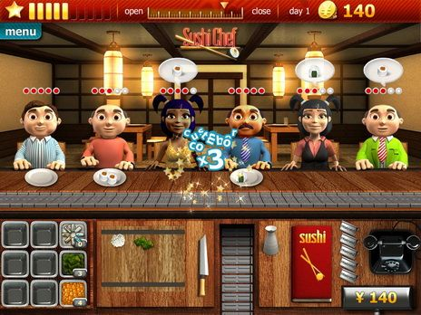 Youda sushi chef 2 download and play on mobile | youdagames. Com.