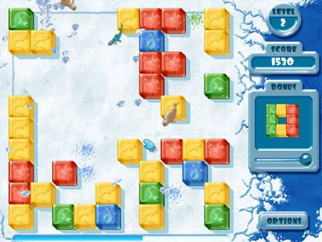 Click to view Penguin Puzzle Game 3.0 screenshot