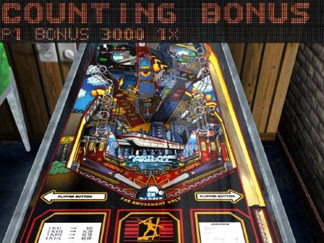 Fastlane Pinball Game screenshot