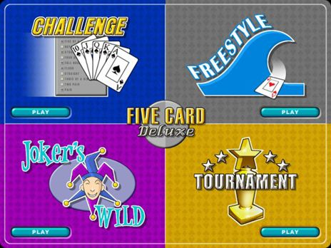 Five Card Deluxe Game screenshot