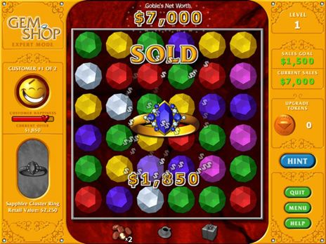 Click to view Gem Shop Free game download 1.0.2 screenshot