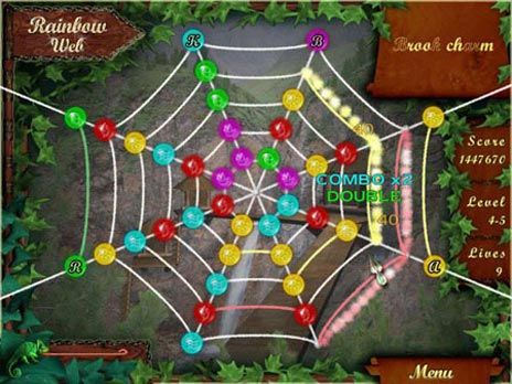 Rainbow Web Game screenshot