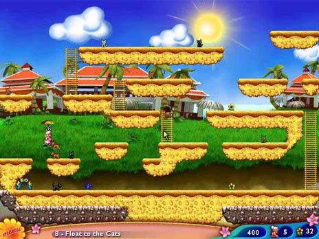 Granny in Paradise Game screenshot
