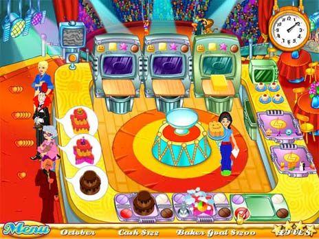 Cake Mania 1 game screenshot