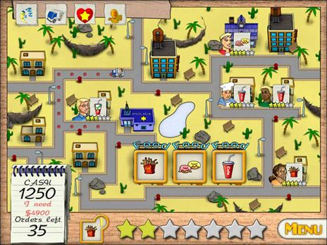 Click to view Delivery King Game 3.0 screenshot