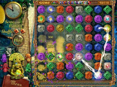 The Treasures of Montezuma Game - Click for fullscreen