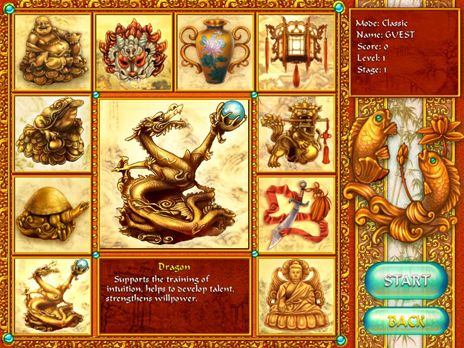 Screenshot of 10 Talismans Free game download 1.0.0