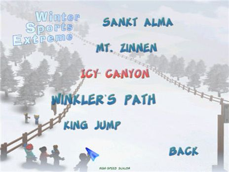Winter Sports Extreme game is one of 400 free games you can download at Free Ride Games. Winter Sports Extreme includes two game modes: Quick Race and Contest. Choose between 4 different events: skiing, ski jumping, snowboarding and big foot skiing.