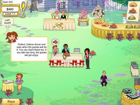 Wedding Dash game screenshot