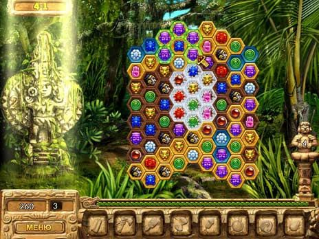 Lost Treasures of El Dorado Free game - Click for fullscreen