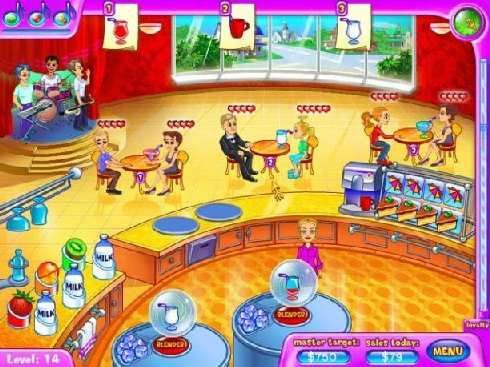 Click to view Golden Hearts Juice Bar Game 3.0 screenshot