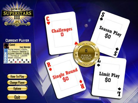 Screenshot for Poker Superstars III Free game download 1.0.2