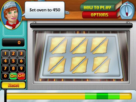 Click to view Cooking Academy Game 3.0 screenshot