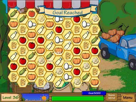 Click to view Dairy Dash Game 3.0 screenshot
