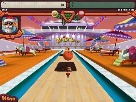 Elf Bowling Hawaiian V. game is 1 of 400 Free Games you can play @ FreeRideGames