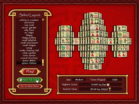 Click to view Mahjong World Game 2.0.1 screenshot