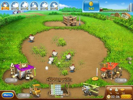 Farm Frenzy 2 Free game download - Click for fullscreen