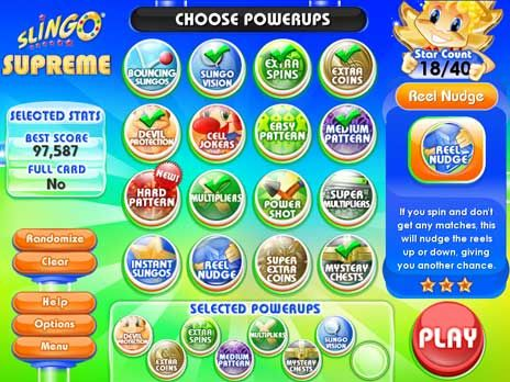Slingo Supreme Free game download - Click for fullscreen