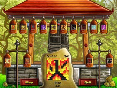 World Mosaics Game screenshot