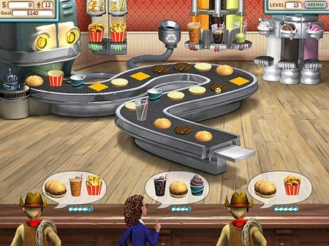 Burger Shop Game screenshot