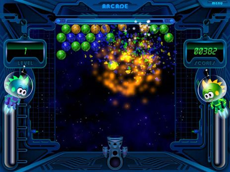 Bubble Odyssey Game screenshot