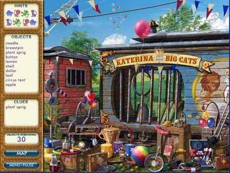 Click to view PJ Pride Pet Detective Europe game 2.5 screenshot