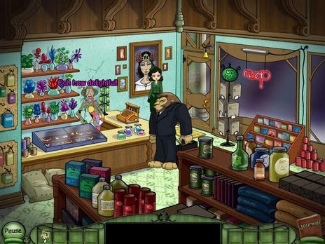 Emerald City Confidential game screenshot