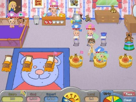 Click to view Diaper Dash Game 3.0 screenshot