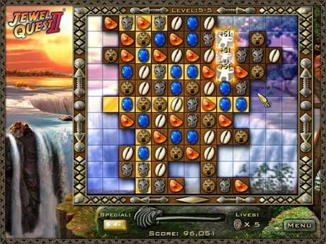 Click to view Jewel Quest 2 Free game download 1.0.2 screenshot