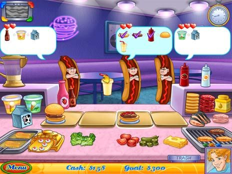 Click to view Cake Mania Main Street Game 3.0 screenshot