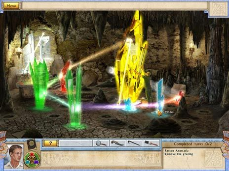 Alabama Smith in the Quest of Fate game screenshot