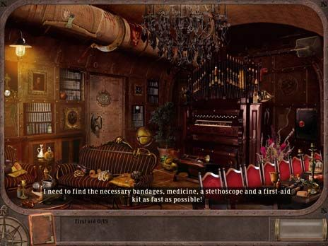 20000 Leagues Under the Sea Game screenshot