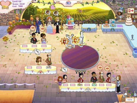 Click to view Wedding Dash 4 game 2.5 screenshot
