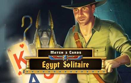 Egypt Solitaire Match 2 Cards