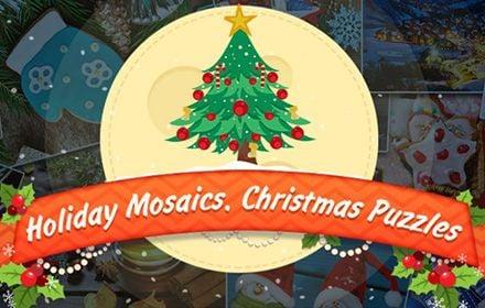 Holiday Mosaics Christmas Puzzles