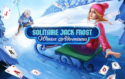 Solitaire Jack Frost Winter Adventures