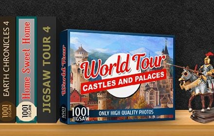 1001 Jigsaw World Tour - Castles and Palaces